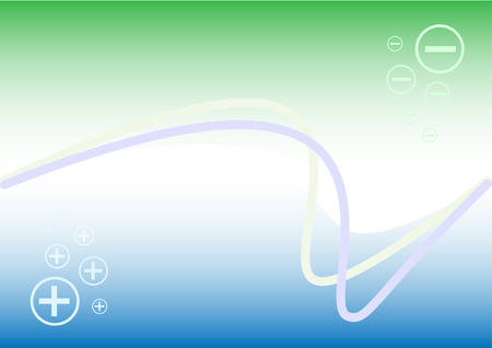 Abstract waves vector. Simply change. Vector