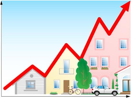 Vector illustration. Concept diagram. Success development. Stock Vector - 4361090