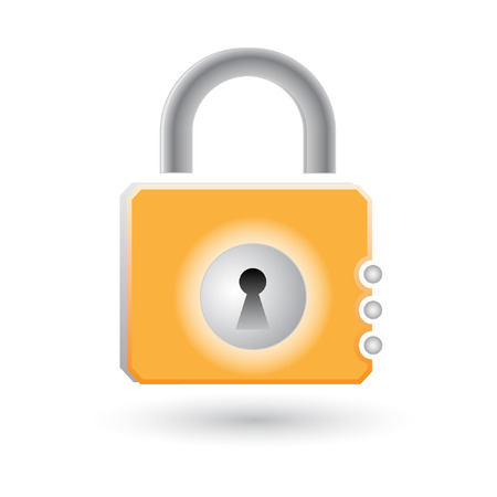Vector lock icon Vector