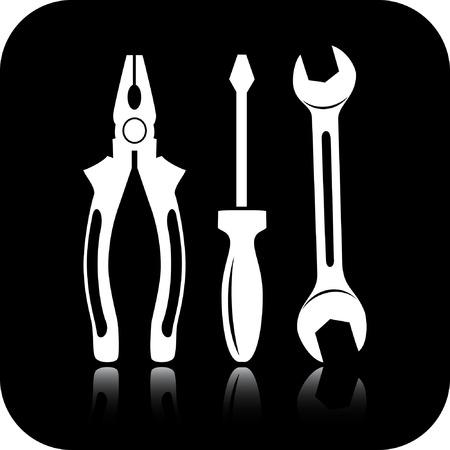 nipper: Vector tools icon Illustration