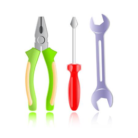 tongs: Vector herramientas icono
