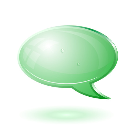Vector chat icon Vector