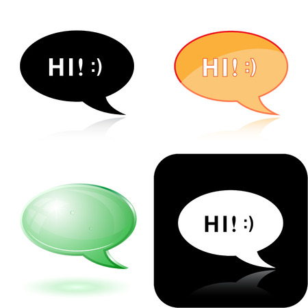 Vector chat icons Vector