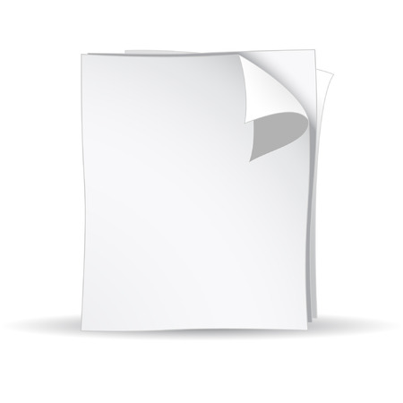 Vector 3d white papers