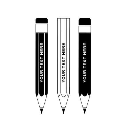 Vector pencils icon Vector