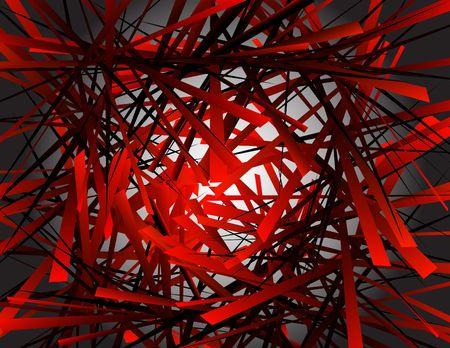 Geometrical chaos Stock Vector - 6590691