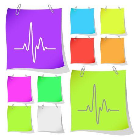 Cardiogram. Stock Vector - 6692916