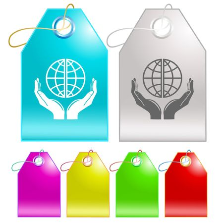 Protection world. Stock Vector - 6693375