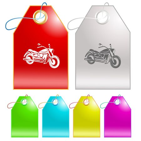 Motorcycle.  Stock Vector - 6693868