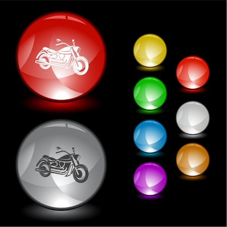 Motorcycle. Stock Vector - 6693823