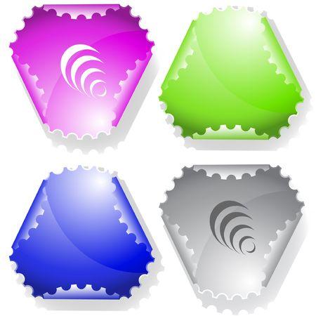 hamose: Pyramid. sticker.