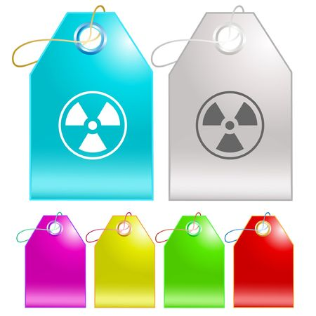 Radiation symbol.  tags. Stock Vector - 6770043
