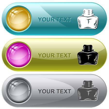 inkstand: Inkstand. internet buttons.