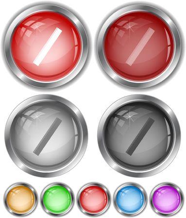 Ruler. internet buttons. Vector