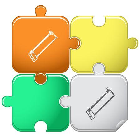 seghetto: Seghetto. puzzle.