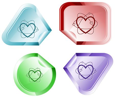 hamose: Atomic heart. sticker. Illustration