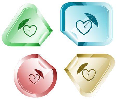 hamose: Protection love.  sticker.