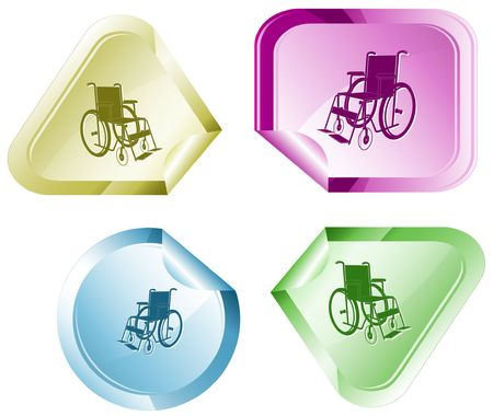 invalid: Invalid chair.  sticker.
