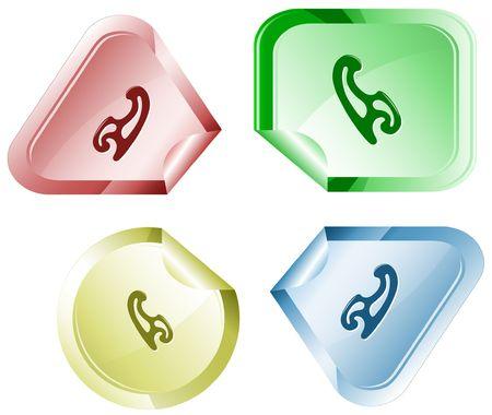 hamose: French curve.  sticker.