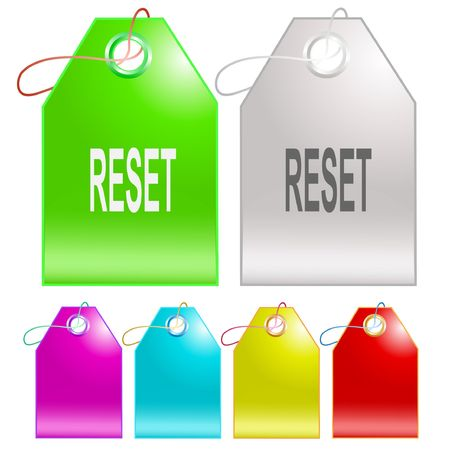Reset. tags.