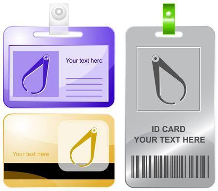 caliper: Caliper. id cards.