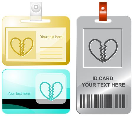 unrequited: Unrequited love. id cards.