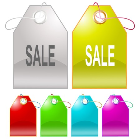 Sale. tags. Stock Vector - 6862522