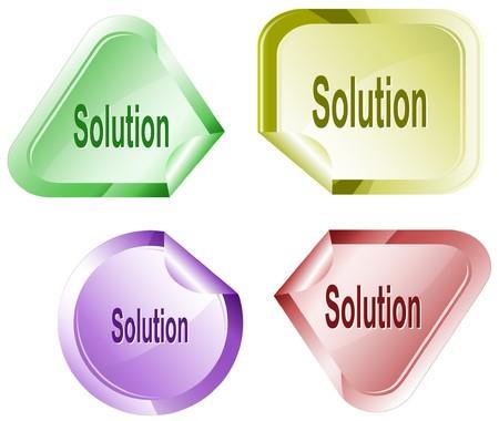 declinate: Solution. sticker.