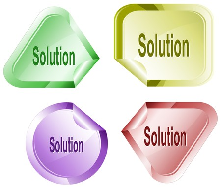 hamose: Solution. sticker.