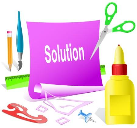 pva: Solution.   paper template.