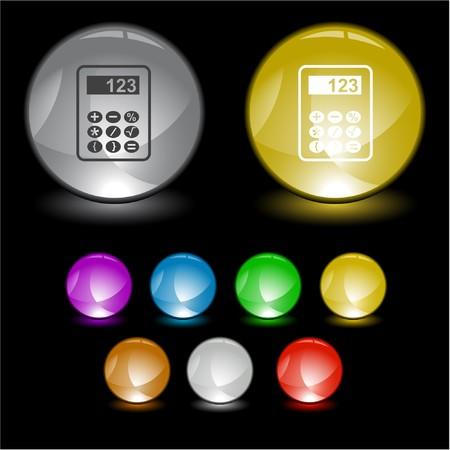 Calculator.  interface element. Stock Vector - 6986100