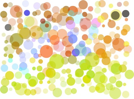 Abstract dots background Stock Vector - 7049954