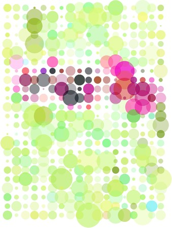 Abstract dots background Stock Vector - 7050049