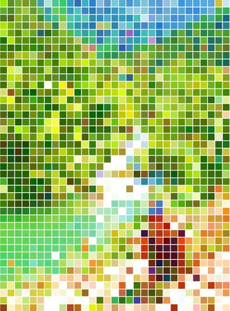 mosaic pattern: Abstract  dots background