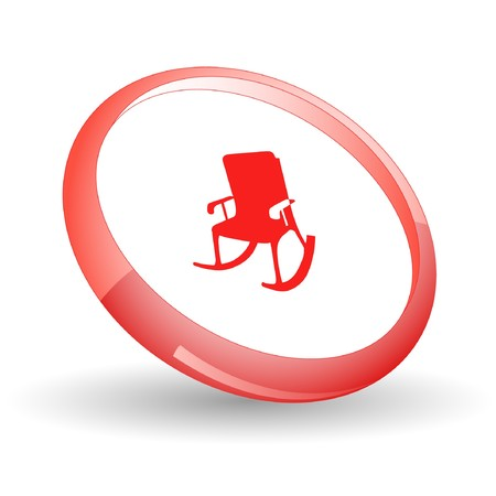 Armchair. Vector icon. Stock Vector - 7169816