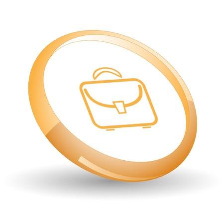 Briefcase. Vector icon. Stock Vector - 7169813