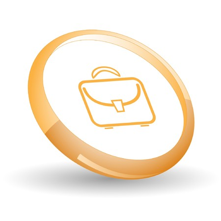 Briefcase. Vector icon. Stock Vector - 7169813