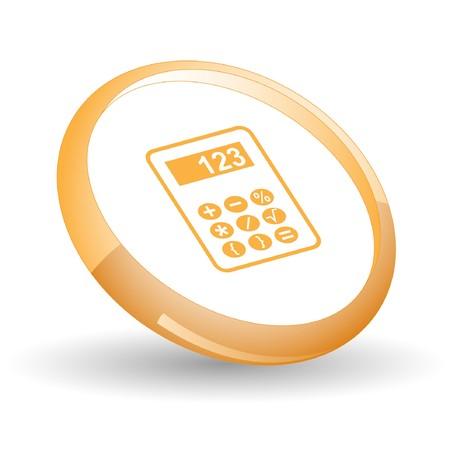 Calculator. Vector icon. Vector