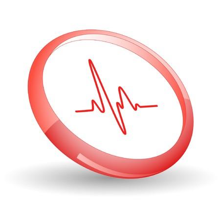 pulsating: Cardiogram.