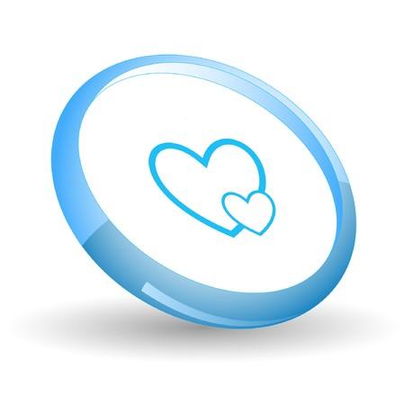 Careful heart. Stock Vector - 7170009
