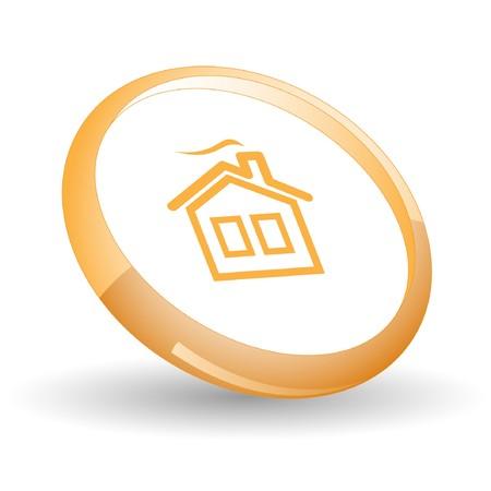 Home.  Stock Vector - 7170258