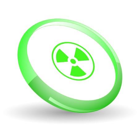 Radiation symbol.  Stock Vector - 7169997