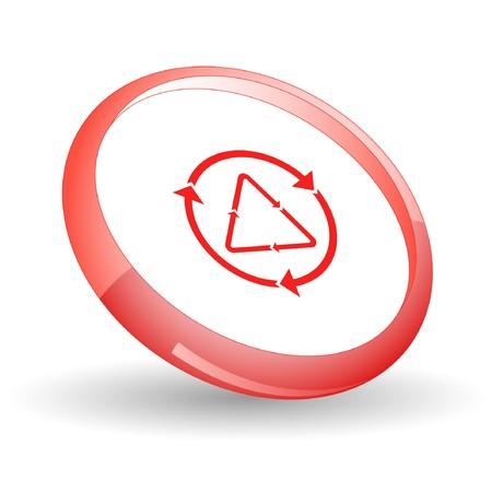 Recycle symbol.  Stock Vector - 7170251