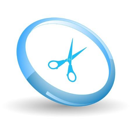 Scissors.  Stock Vector - 7170162