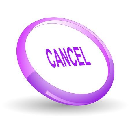 Cancel.  Ilustração
