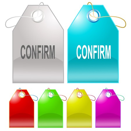 confirm: Confirm tags. Illustration