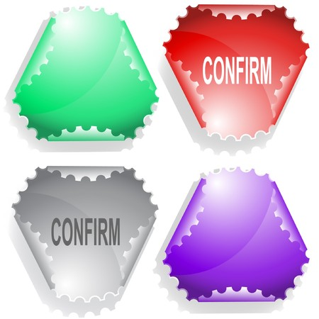 declinate: Confirm sticker.