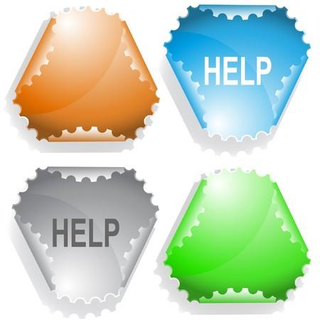 facilitation: Help sticker.