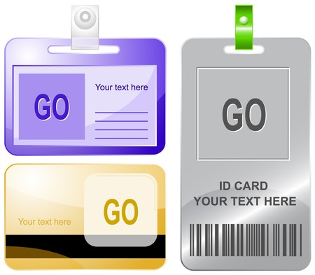 go to store: Go. id cards.