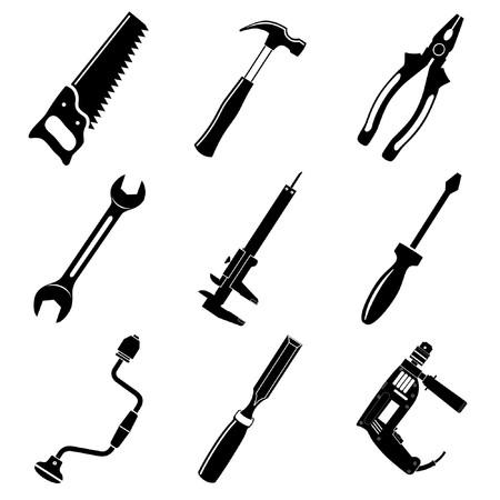Vector icônes des outils
